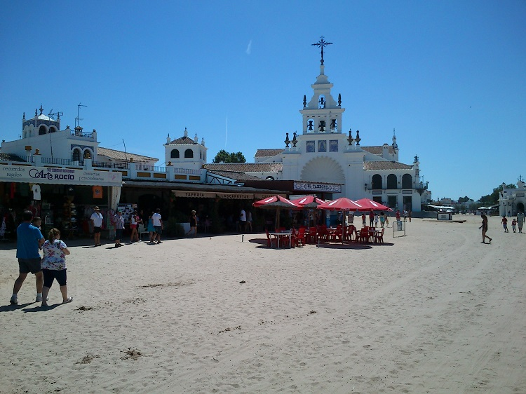 the wild western village of El Rocio
