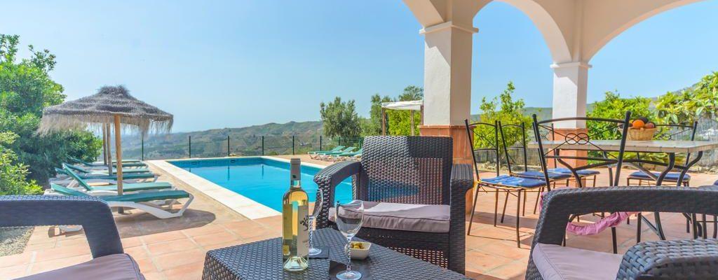 Andalusien Comares Luxusvilla 28954
