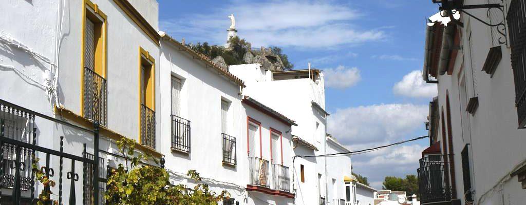 Andalusien Olvera Cadiz Stadthaus 10096
