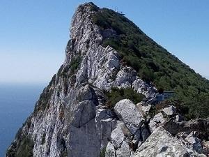 Authentischen Eindruck von Gibraltar