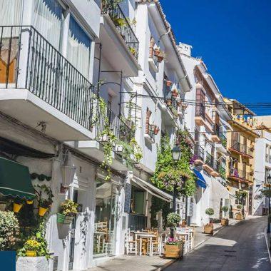 Schöne Unterkünfte im Marbella Altstadt