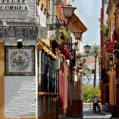 Unterkünfte im Triana von Sevilla