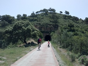 Radtour auf den alten Bahnlinien