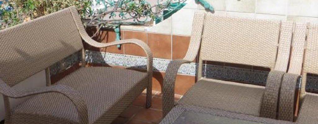 Kanaren Puerto de Mogan Duplex mit Dachterrasse 36325
